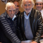 Wall of fame choco story Jean-Paul Belmondo et Charles Gerard