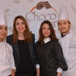 Wall of fame choco story Severine Ferrer et l'équipe du Musee